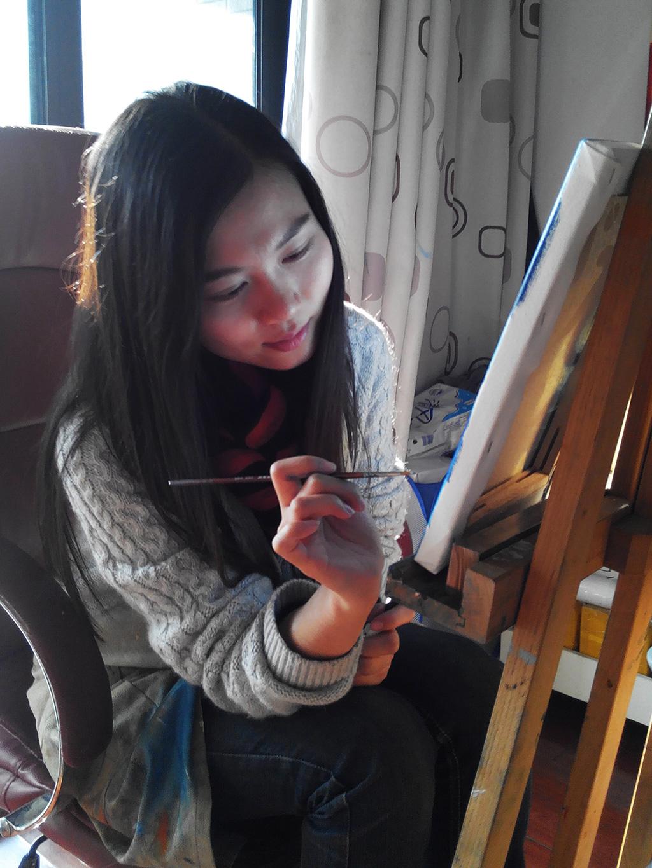 Gladys painting