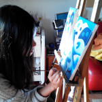 Gladys painting